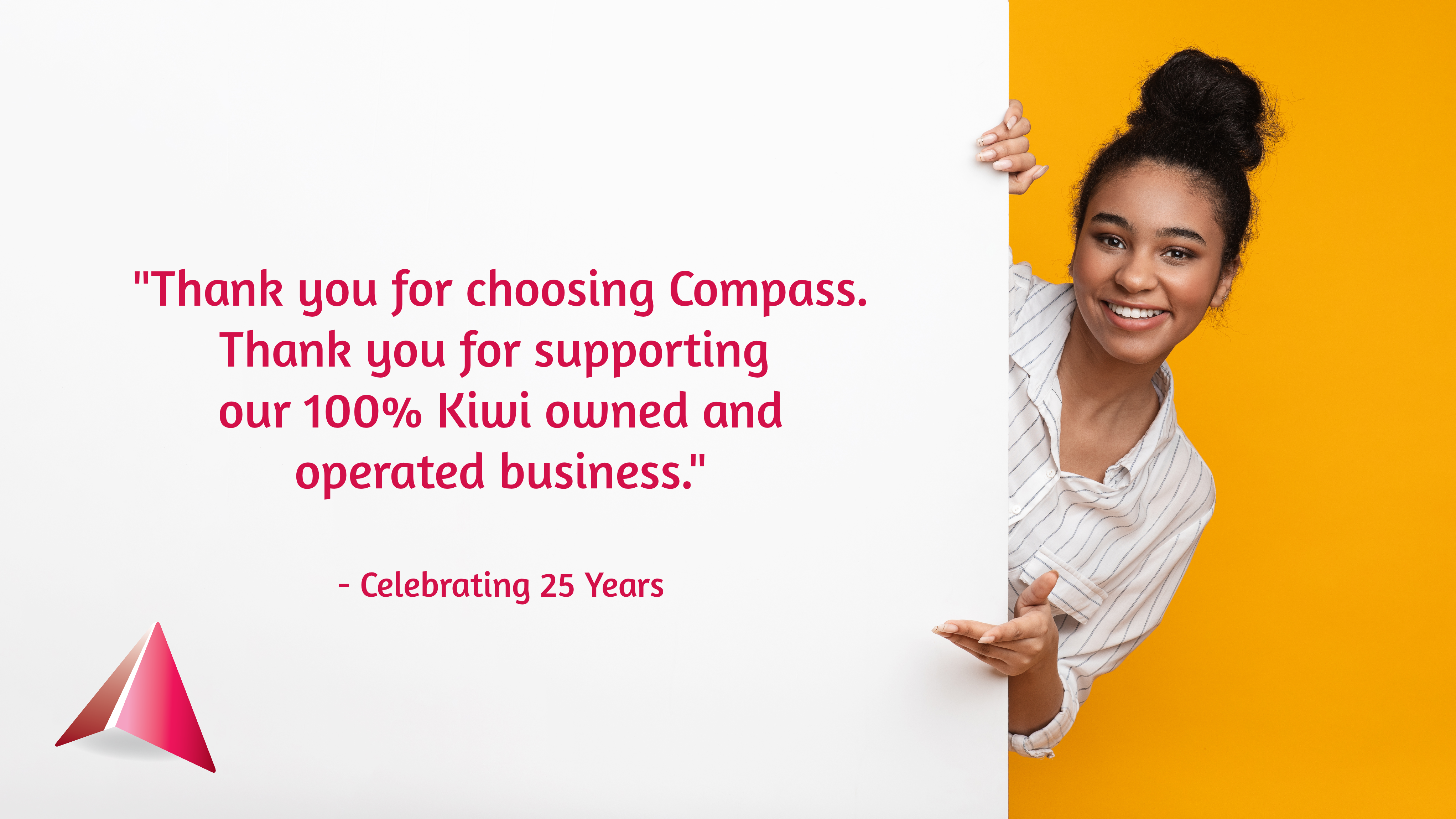 Compass Communications celebrating 25 years