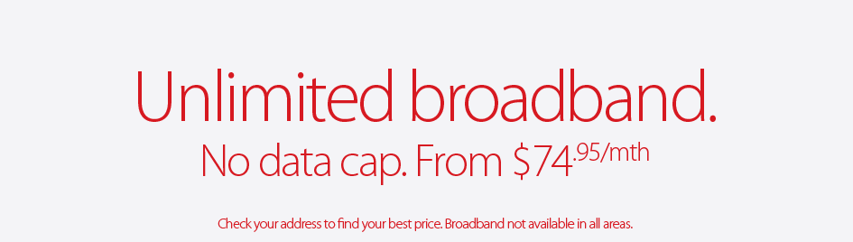 Unlimited broadband